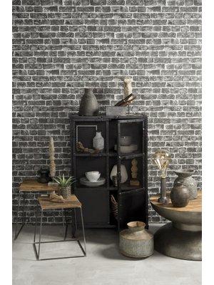 RENEW Showmodel Industriële Wandkast 2-Deurs Raster 122cm