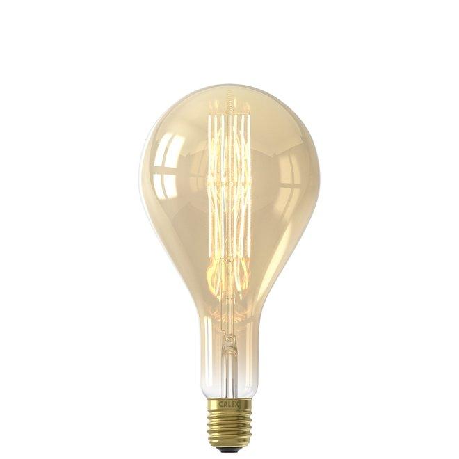 Giant Filament Splash Gold LED lamp Dimbaar 240V