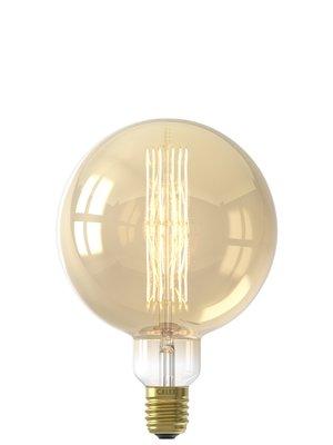 Calex Giant Filament Megaglobe Gold LED lamp Dimbaar 240V
