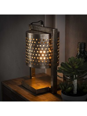 Alaska Taffellamp Geperforeerd Ø18cm