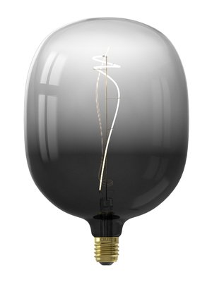Calex Avesta Moonstone Black led lamp 4W 80lm 2200K Dimbaar