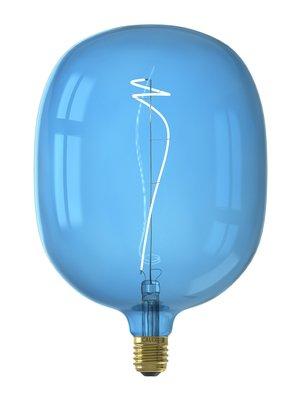 Calex Avesta Sapphire Blue led lamp 4W 80lm 2700K Dimbaar