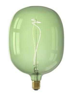 Calex Avesta Emerald Green led lamp 4W 130lm 2200K Dimbaar