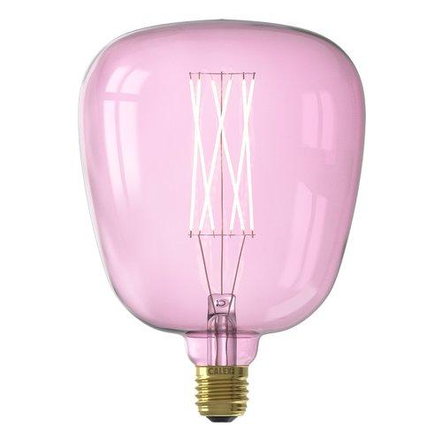 Calex Kiruna Quartz Pink led lamp 4W 200lm 2000K Dimbaar