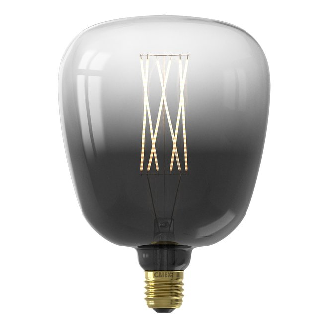 Kiruna Moonstone Black led lamp 4W 150lm 2200K Dimbaar