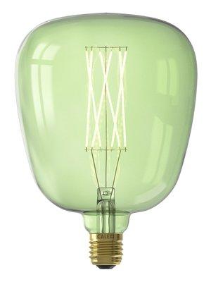 Calex Kiruna Emerald Green led lamp 4W 200lm 2200K Dimbaar