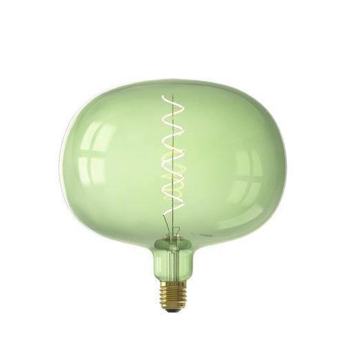 Calex Boden Emerald Green led lamp 4W 130lm 2200K Dimbaar