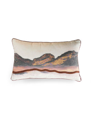 HK Living Double-sided kussen stitched landscape (60x35)
