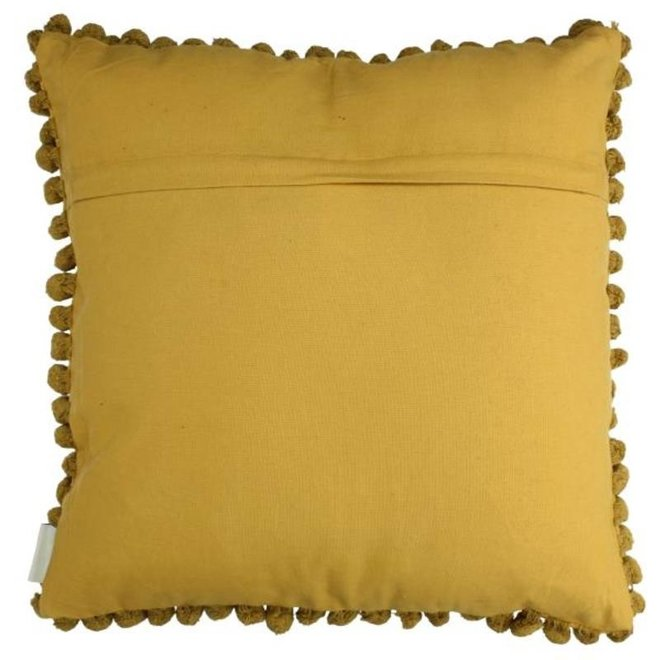 Cushion Yellow 11x50x50cm