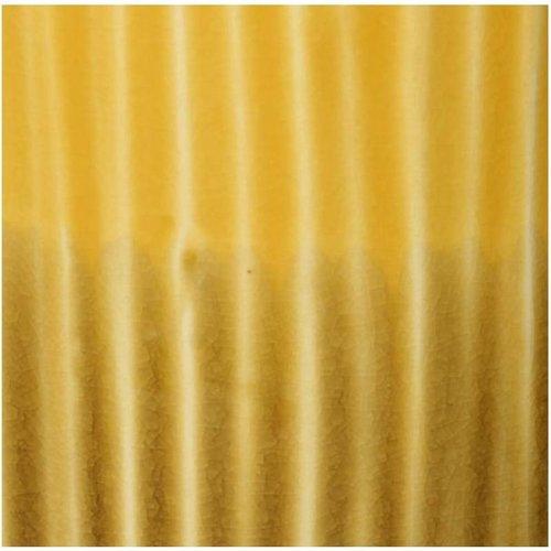 Vaas Stoneware Yellow 13.8x13.8x35.2cm