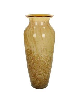Vaas Glass Yellow 11.5x11.5x31.5cm
