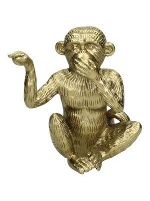 Monkey ornament 15x10x14cm