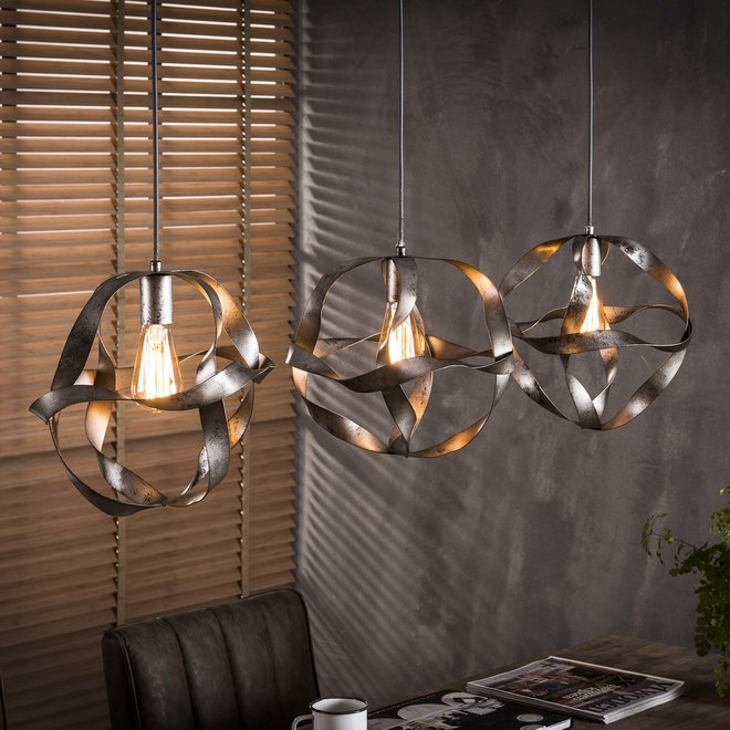 Hanglamp Twist - 3 Lampen Ø30