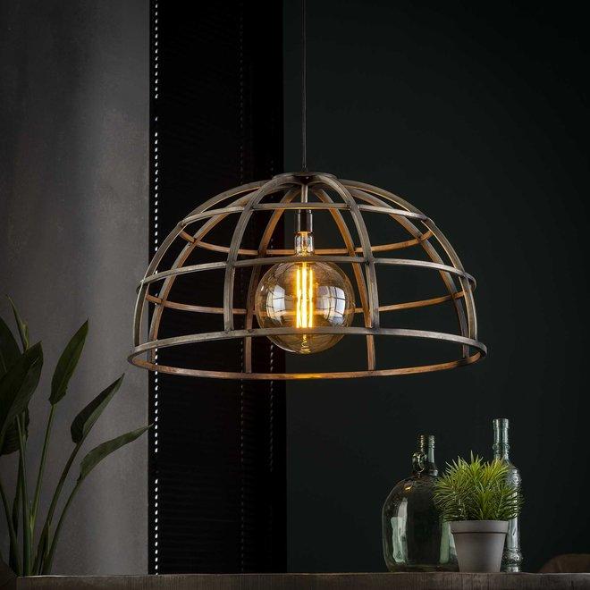Hanglamp Ø70 dome / Oud zilver