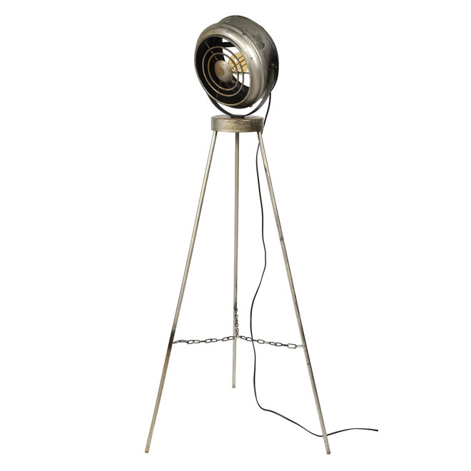 Vloerlamp beam / Oud zilver