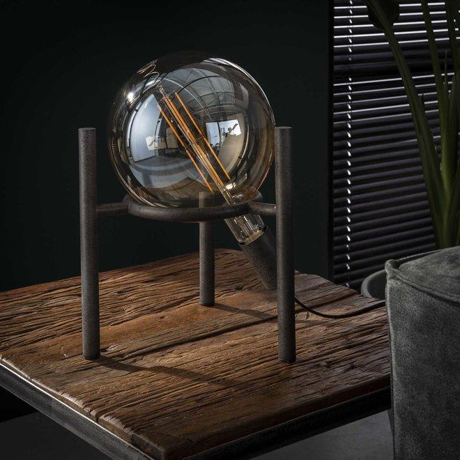 Tafellamp saturn Ø20 lichtbron / Oud zilver