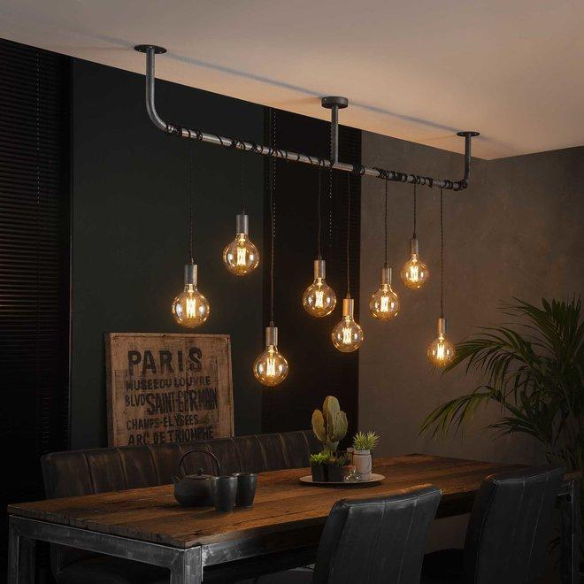 Hanglamp Wikkel - 8 Lampen