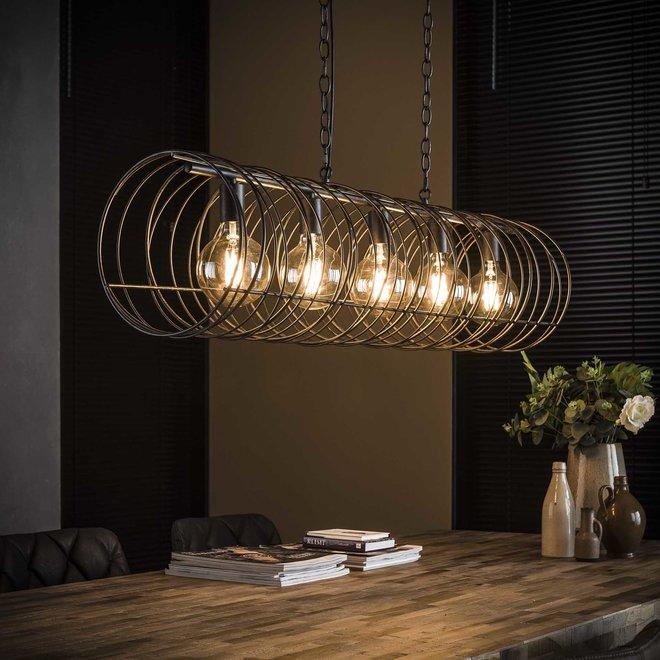 Hanglamp Cilinder - 5 Lampen Ø28