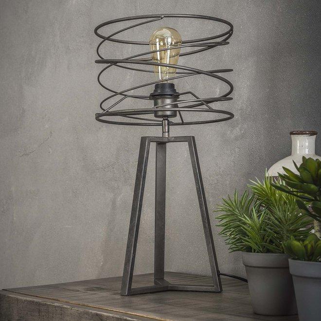 Tafellamp Ø27 curl / Charcoal