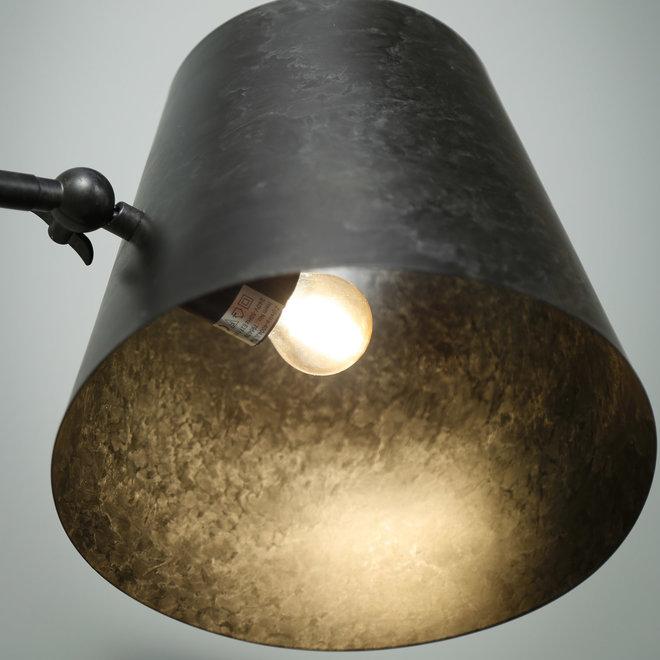 Vloerlamp knik verstelbaar / Charcoal