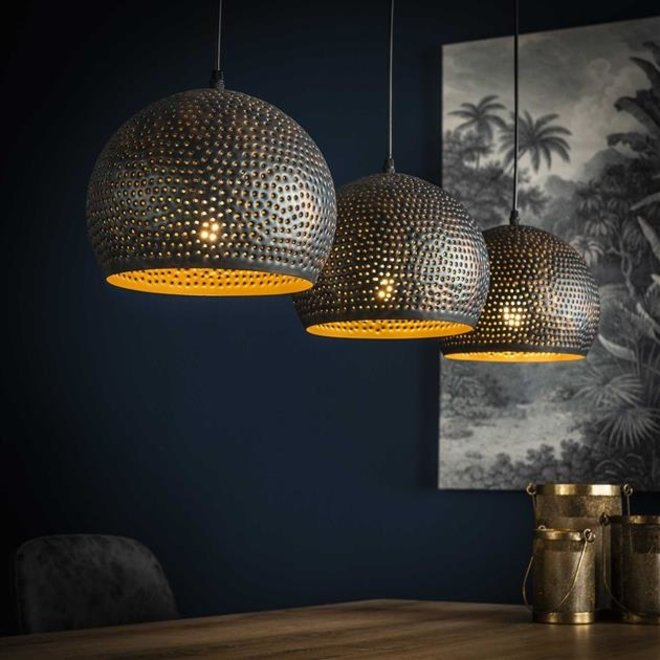 Hanglamp Punch Bol - 3 Lampen Ø25