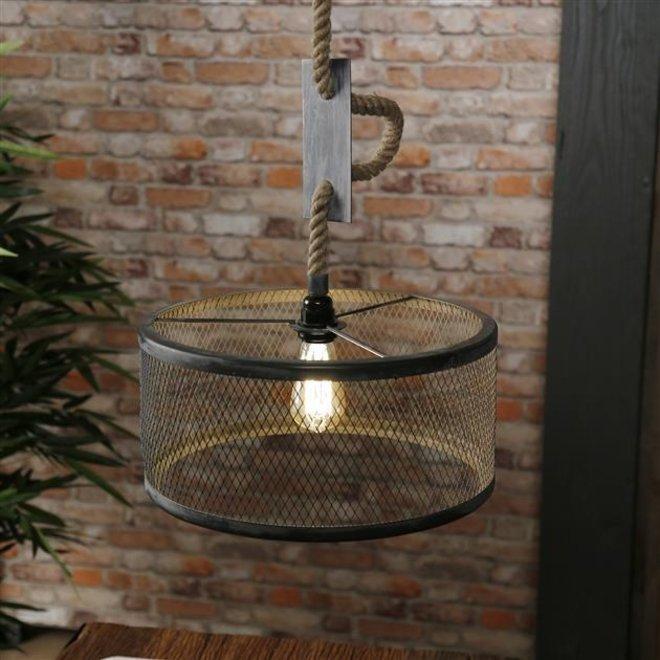 Hanglamp Mesh Verstelbaar Touw  Ø40