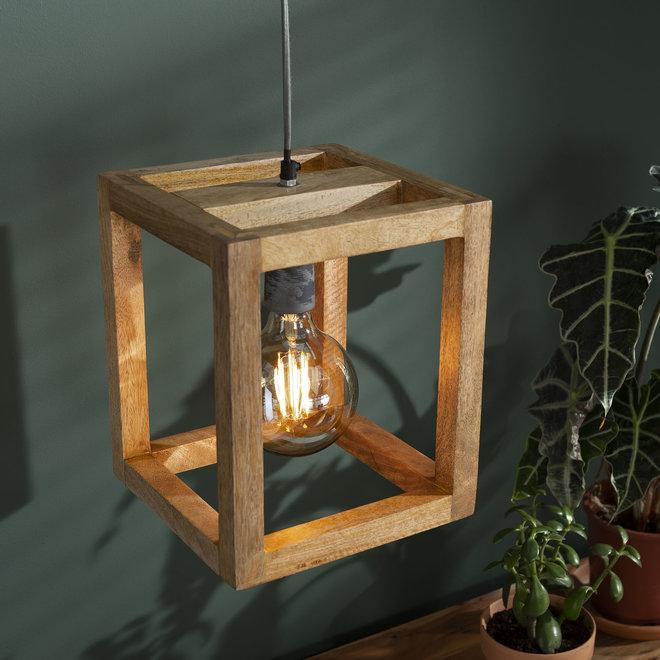 Hanglamp Houten Frame