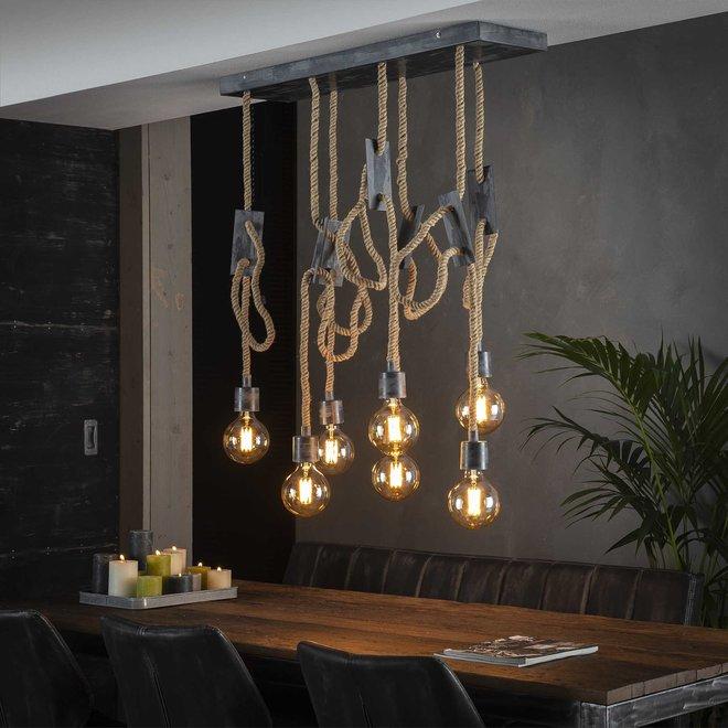 Hanglamp  - 7 Lampen