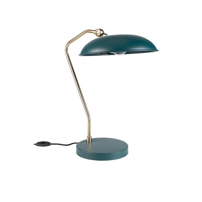 Bureaulamp Liam Teal