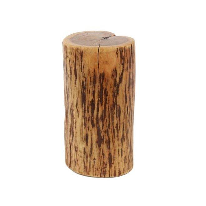 Bijzettafel boomstam ±Ø35 / massief Acacia naturel
