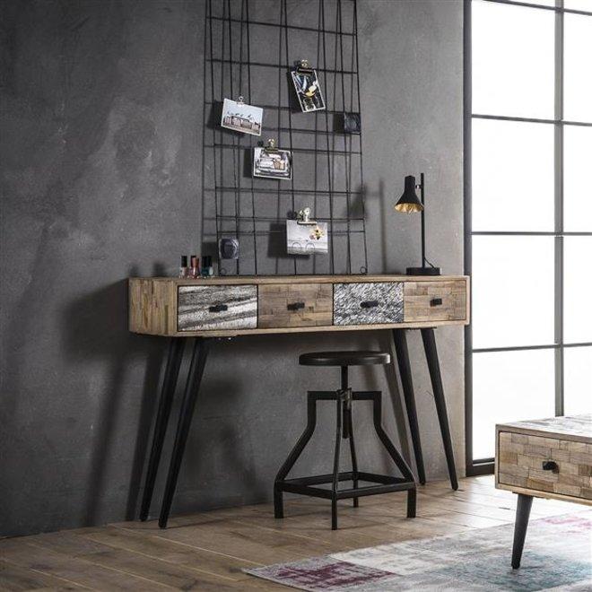 Side table Teca / Teakhout verweerd