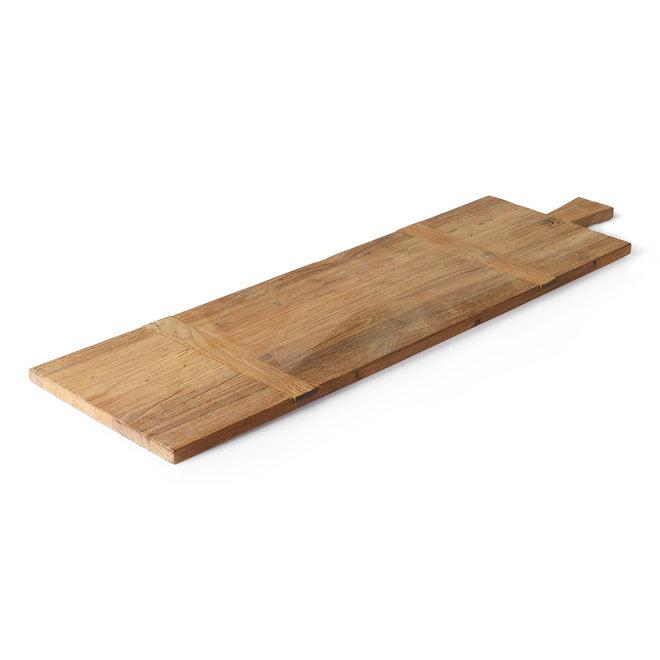 Broodplank Teakhout Vierkant L