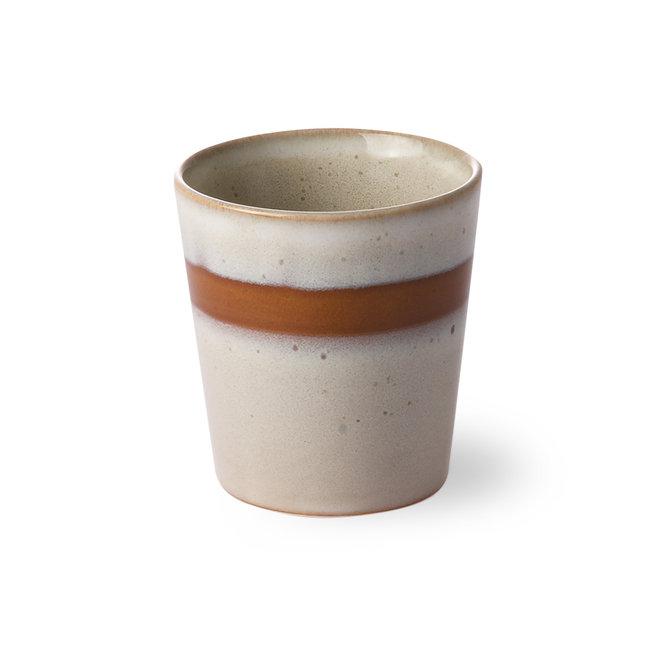 Ceramic 70's Kopje Snow