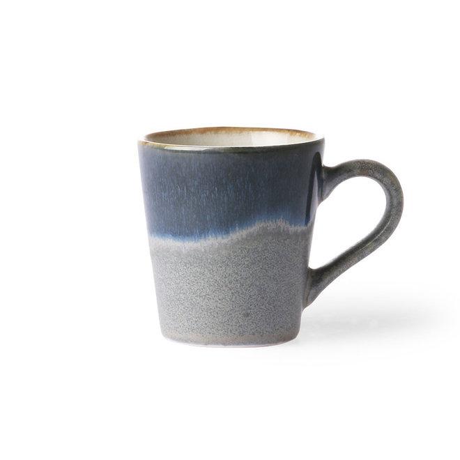 Ceramic 70's Espresso kopje Ocean
