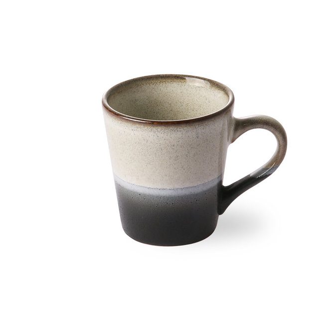 Ceramic 70's Espresso kopje Rock