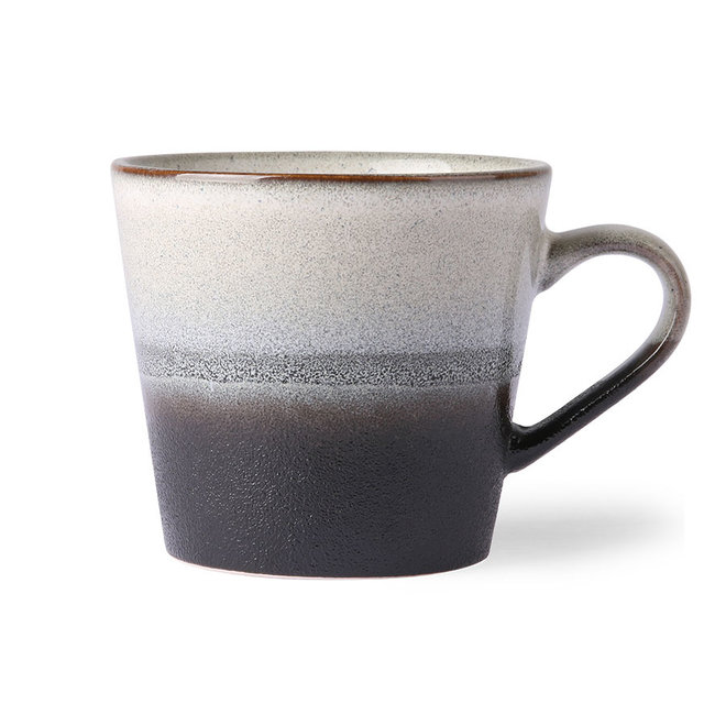 Ceramic 70's Cappuccino kopje Rock