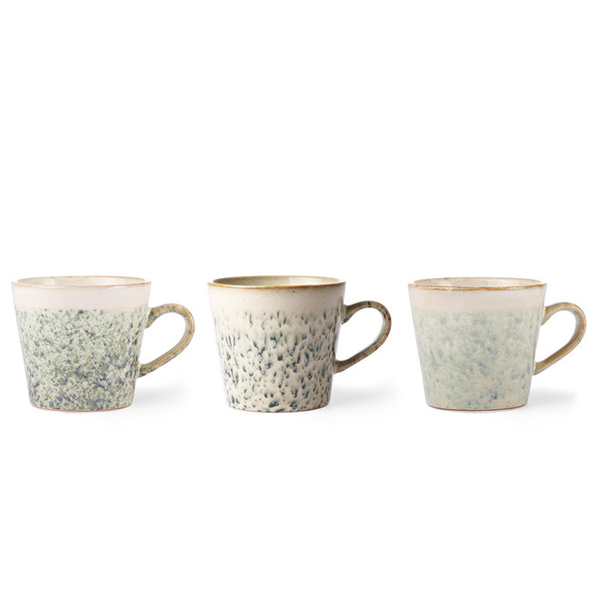 Ceramic 70's Cappuccino kopje Hail