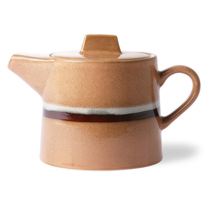 Ceramic 70's Theepot Stream