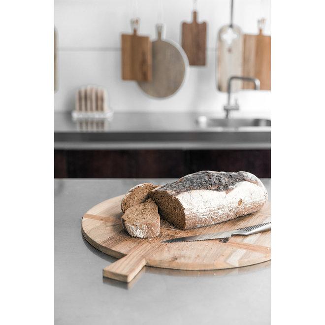 Broodplank Teakhout medium