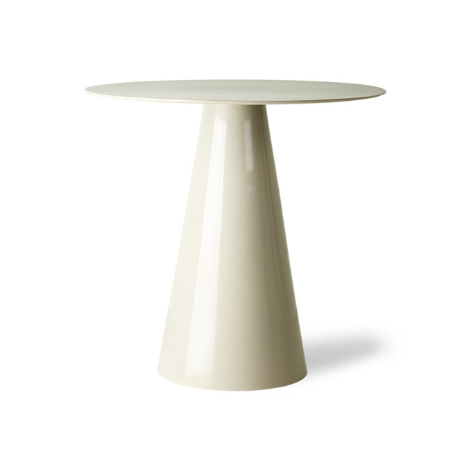 Side table Metaal Cream L