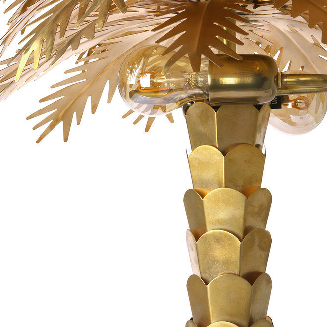 Tafellamp Brass Palm