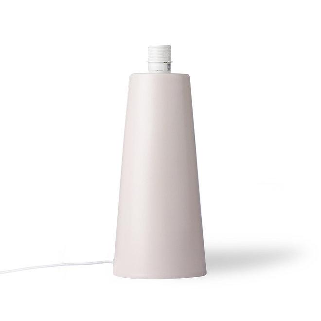 Lamp zonder kap Skin Kegel Mat M