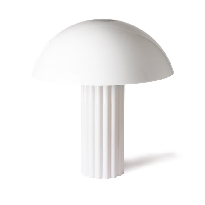 Tafellamp Acrylic Cupola Wit