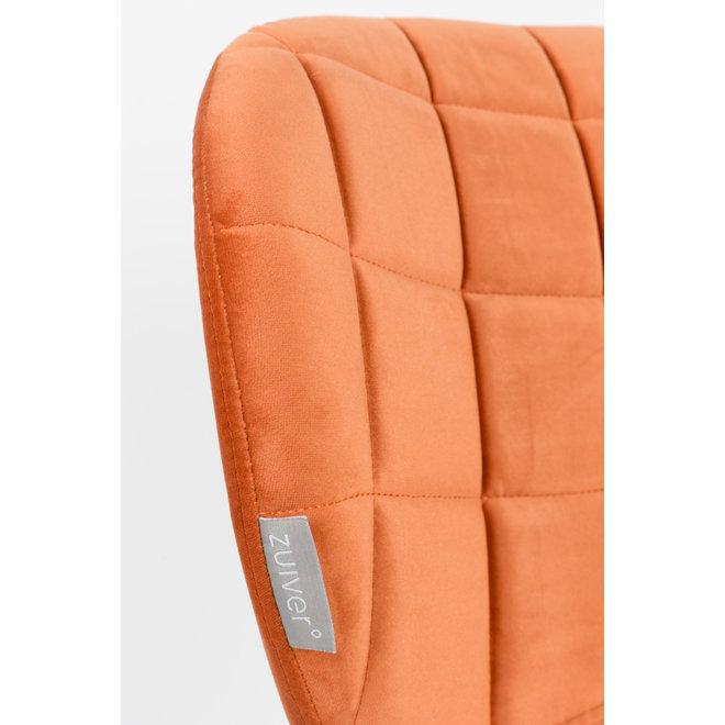 Eetkamerstoel OMG Velvet - Oranje