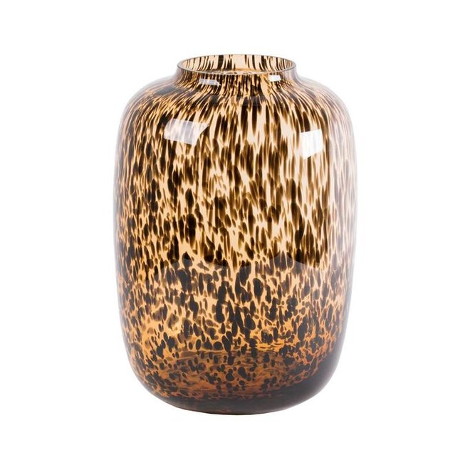 Artic cheetah Vaas M Ø25 x H35 cm