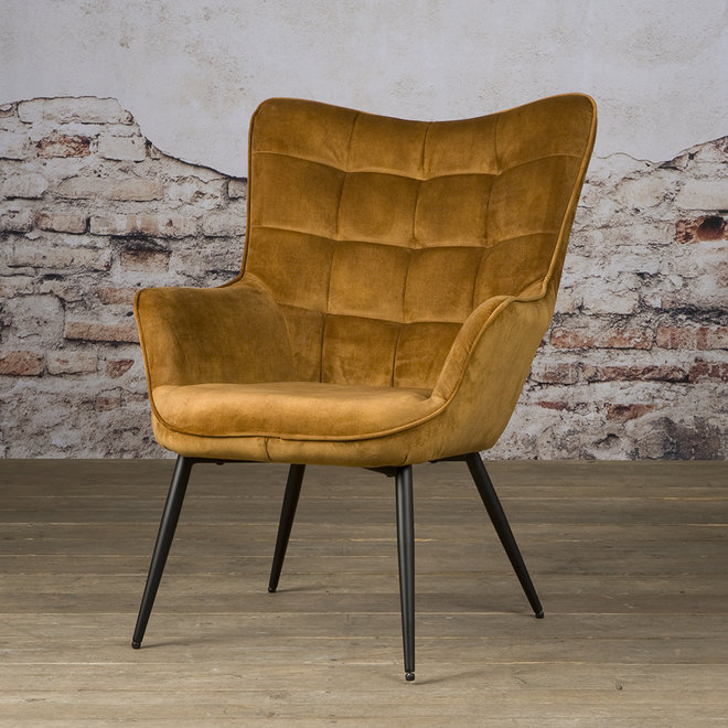 Badia Fauteuil - Bliss 13 Gold