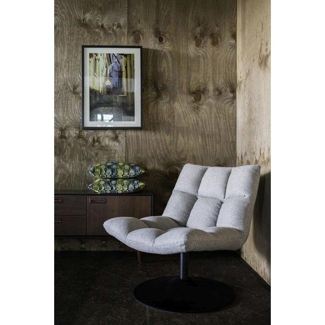 Dutchbone Bar Fauteuil Lichtgrijs Textiel