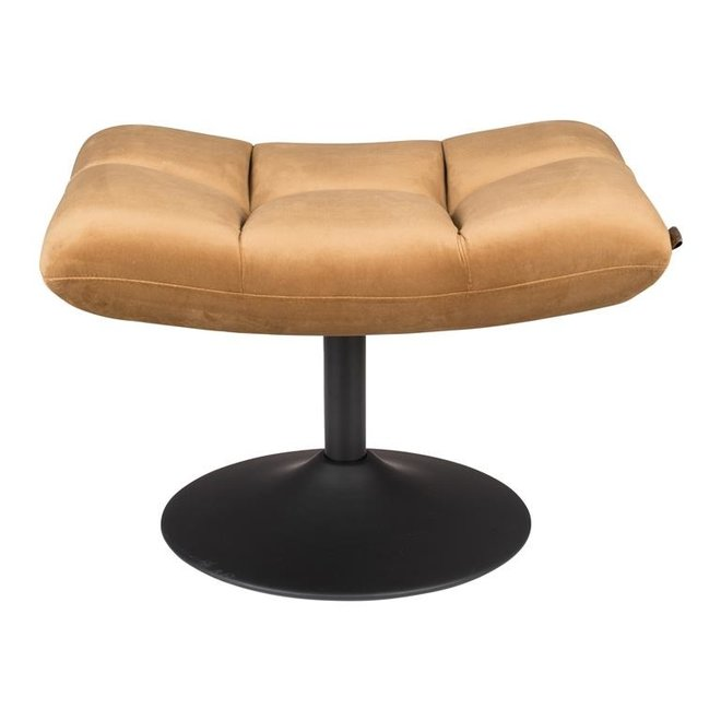 Dutchbone Bar Hocker Velvet Goud