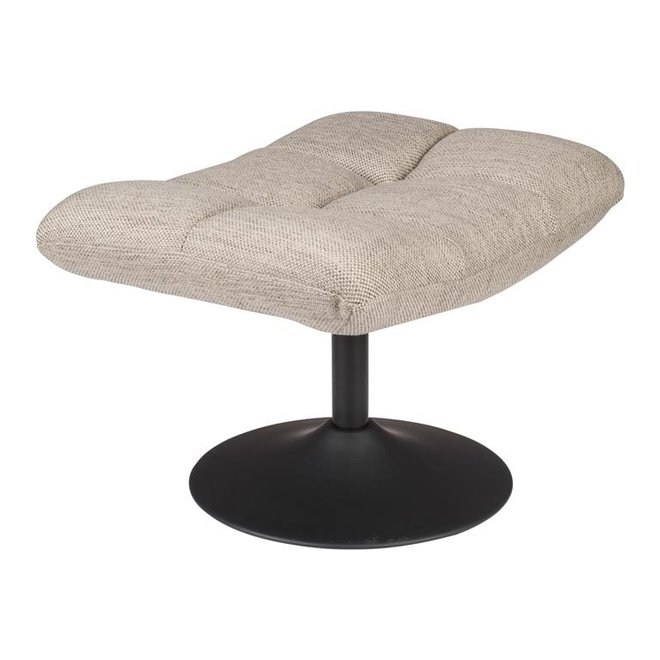 Dutchbone Bar Hocker Lichtgrijs Textiel