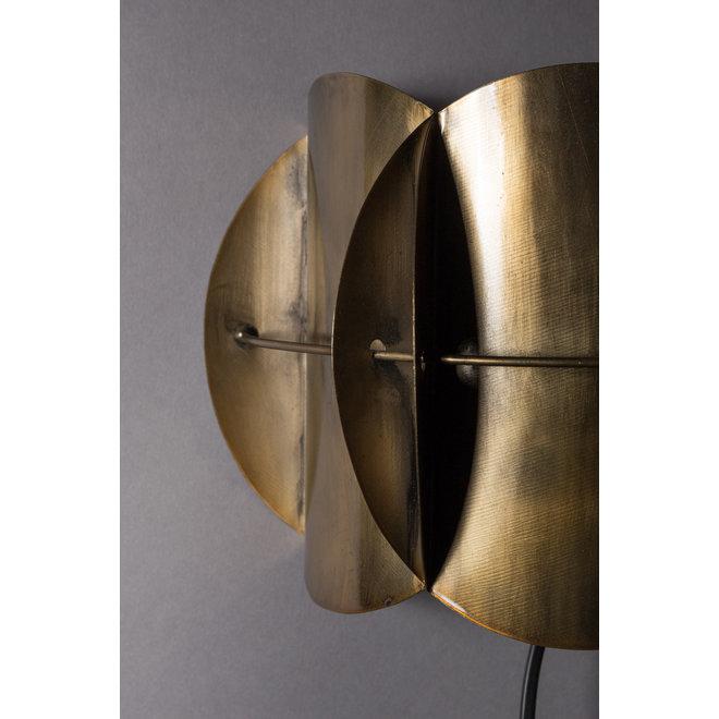 Wandlamp Corridor Antique Brass